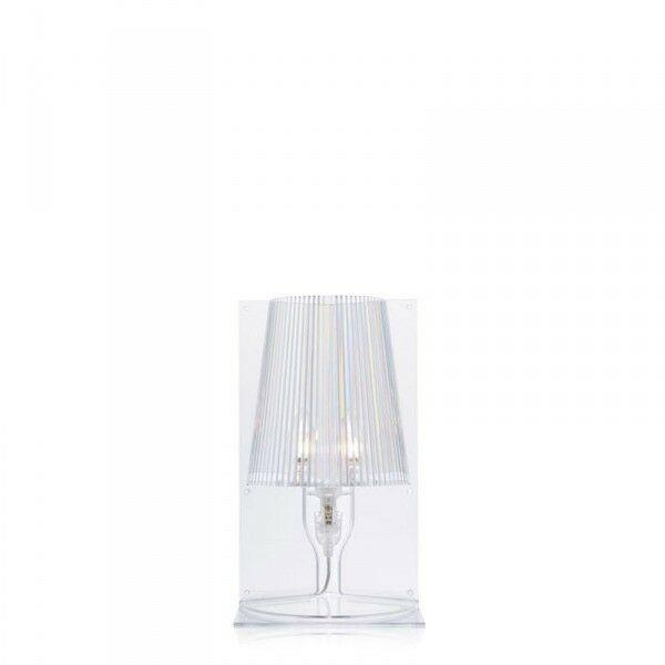 KARTELL - TAKE COLORE CRISTALLO - LAMPADA DA TAVOLO 9050B4