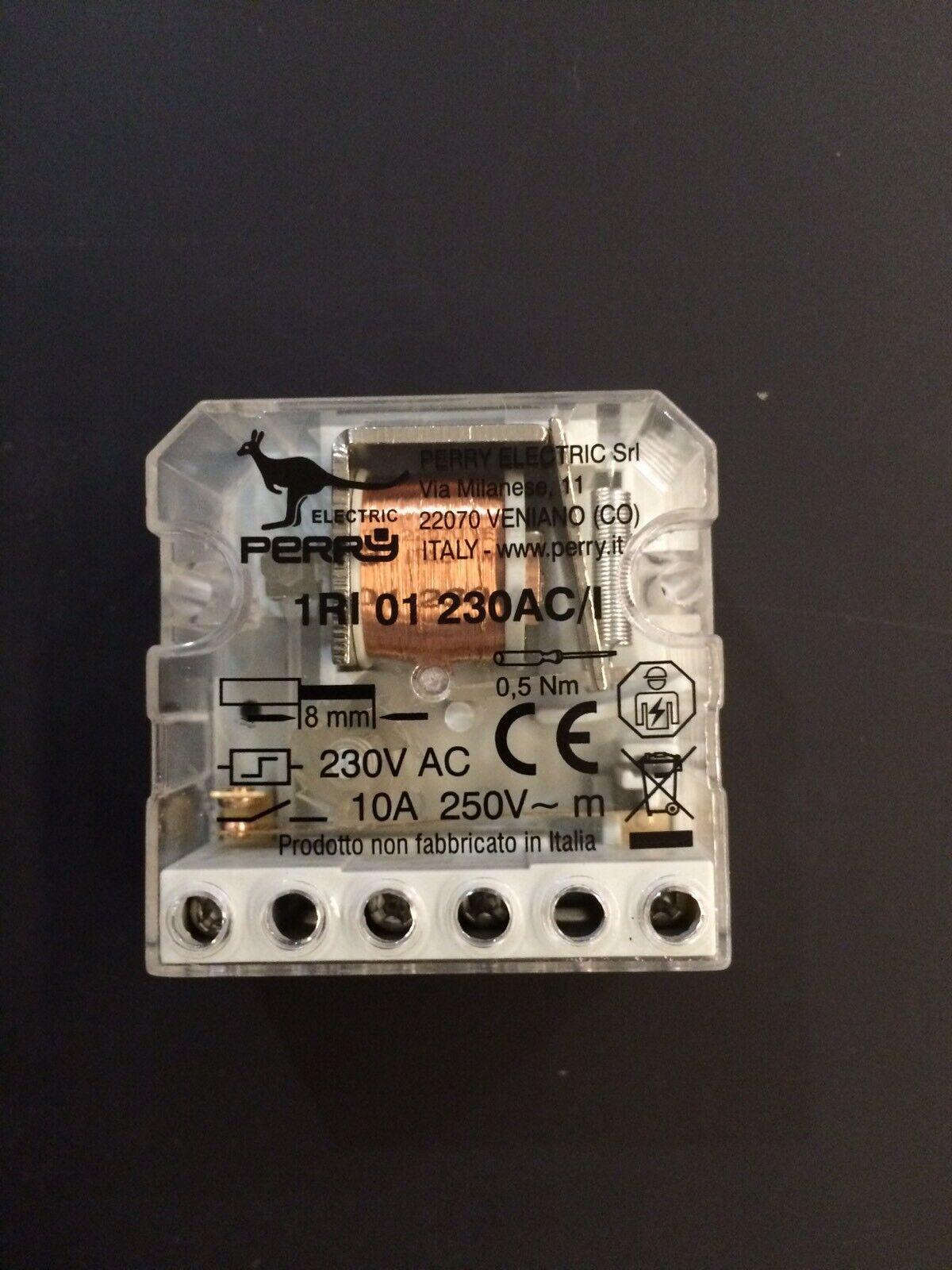 Perry-ELECTRIC-Rele-impulsi-elettromeccanico-230V-1RI01230AC-I-TIPO-FINDER-2601-141549274210