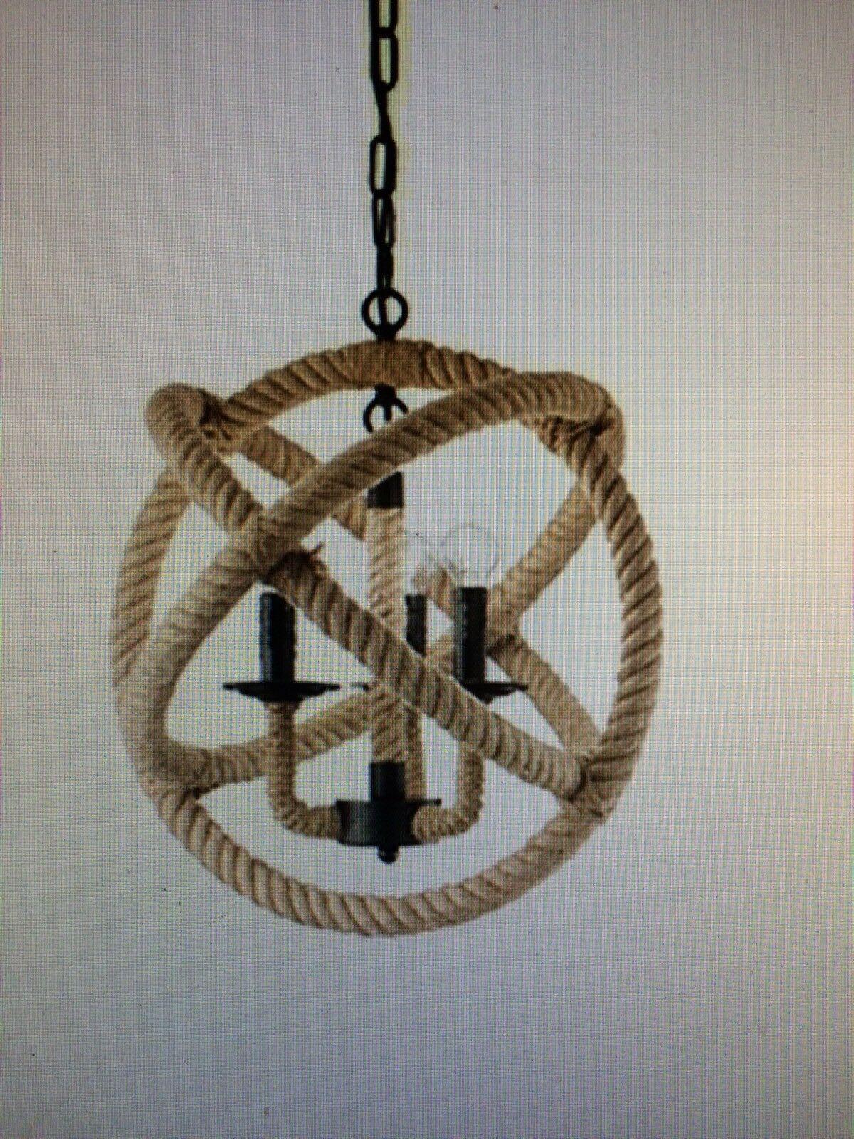 IDEAL-LUX-lampada-a-sospensione-Corda-Sp3-colore-corda-montatura-in-metallo-143096058454