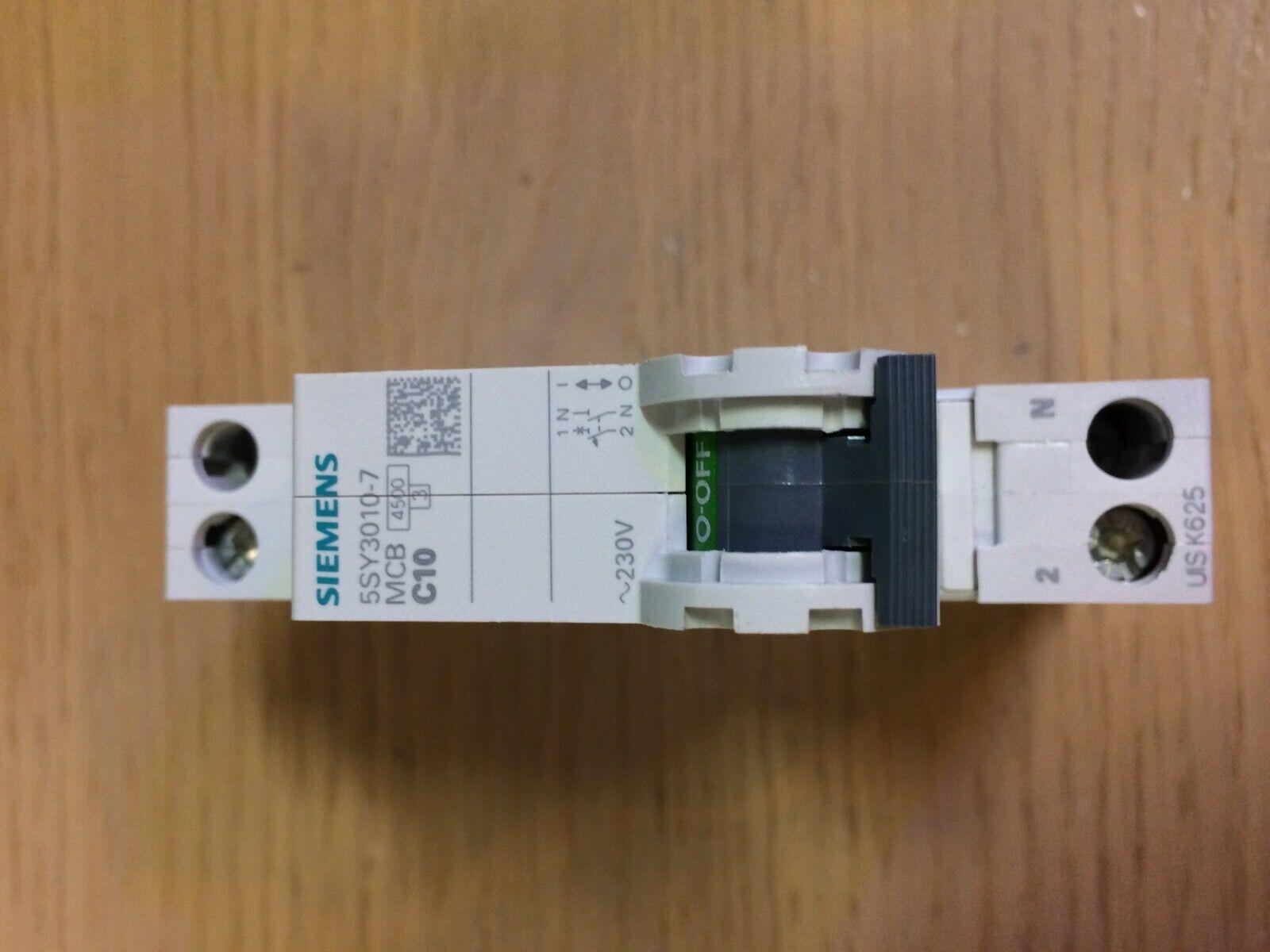SIEMENS-MAGNETOTERMICO-1-MODULI-10A-1N-4500K-5SY30107-153461298384