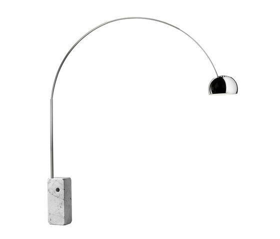 FLOS-LAMPADA-MOD-ARCO-Originale-Lampada-da-terra-Design-Achille-Castiglioni-153761519147