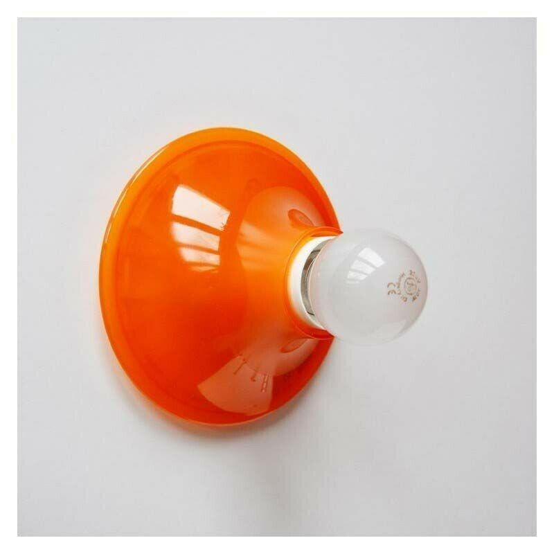 Artemide-Teti-Lampada-da-soffitto-A048110-ARANCIONE-senza-lampada-133454541758